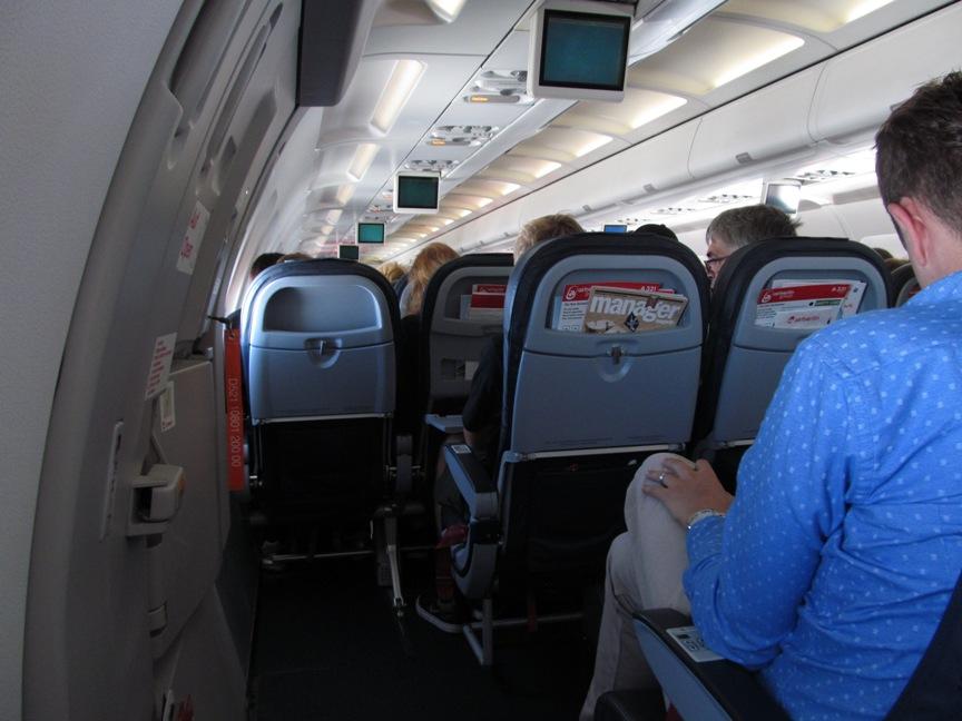 Место XL AirBerlin