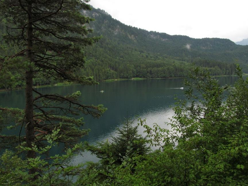 Озеро Альпзее по пути в Швангау