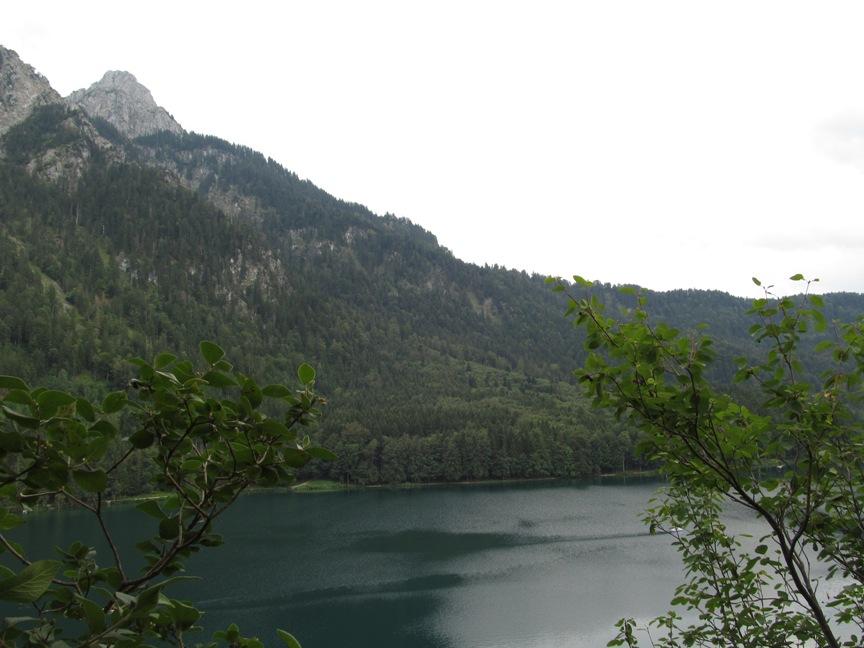 Смотровая площадка озера Альпзее