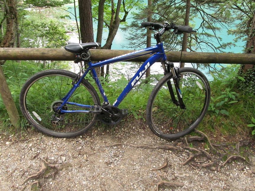Велосипед за 9 евро в Швангау