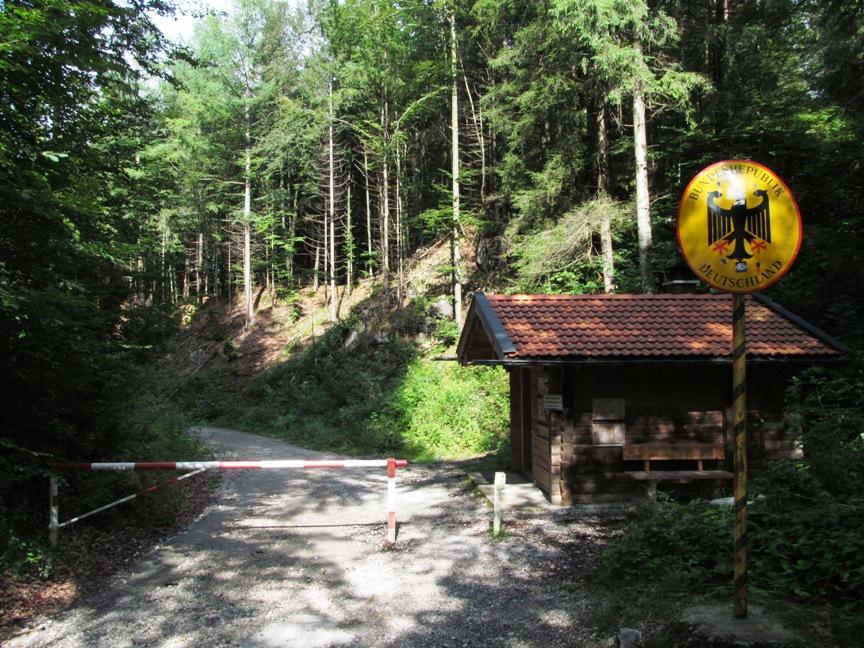 Граница Австрии и Германии