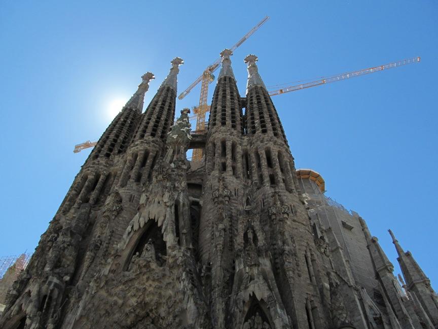 Фото Саграды Фамилии в Барселоне