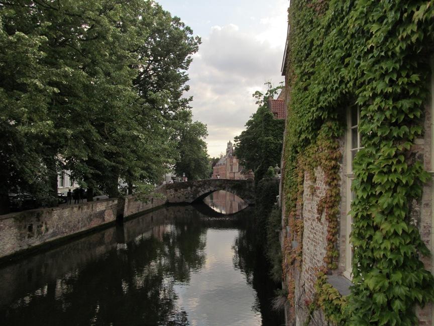 Каналы Брюгге на фото
