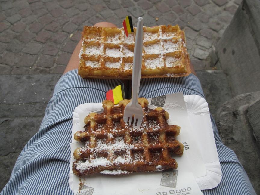 фото бельгийских вафель