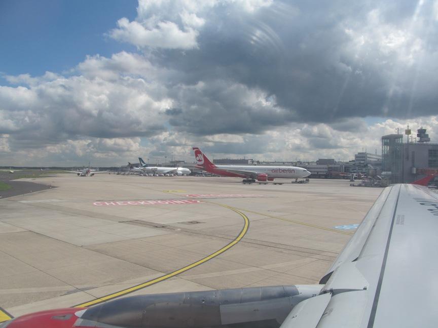 Фото в аэропорту Дюссельдорфа