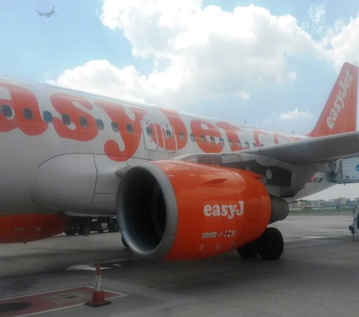 Самолёт EasyJet из Неаполя в Венецию