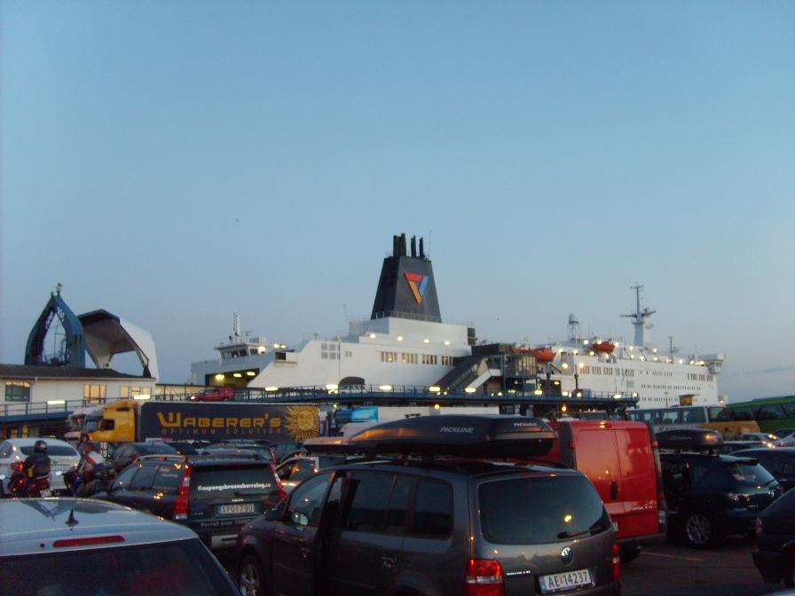 Паром Viking Line из Треллеборга
