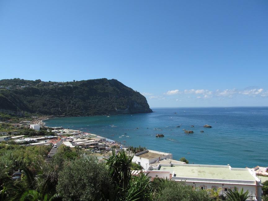 Пляж Читара Форио Искья фотография