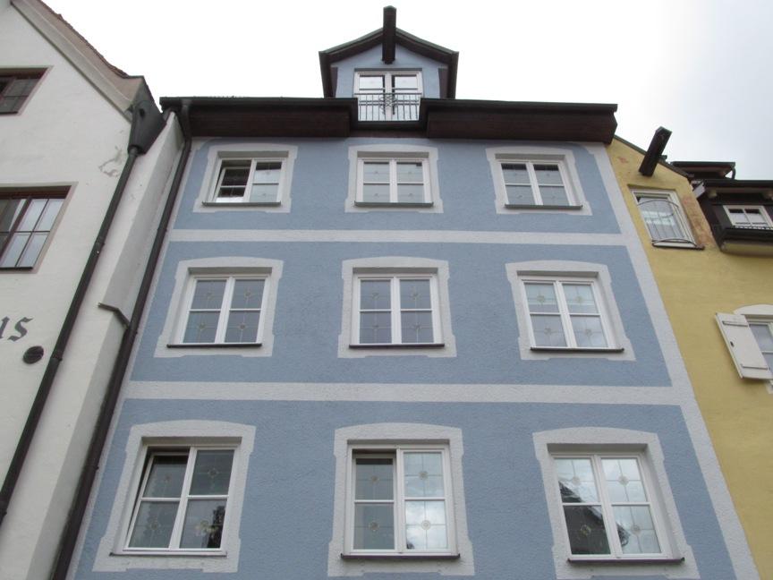 Синий домики в Фюссене