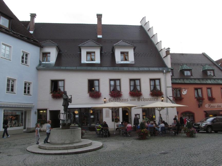 Площадь в Фюссене