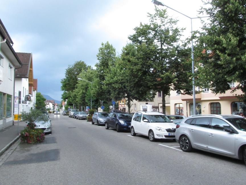 Фюссен рядом с ЖД вокзалом