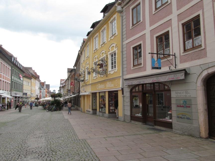 Старый город в Фюссене