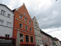 На фото старый город Фюссена