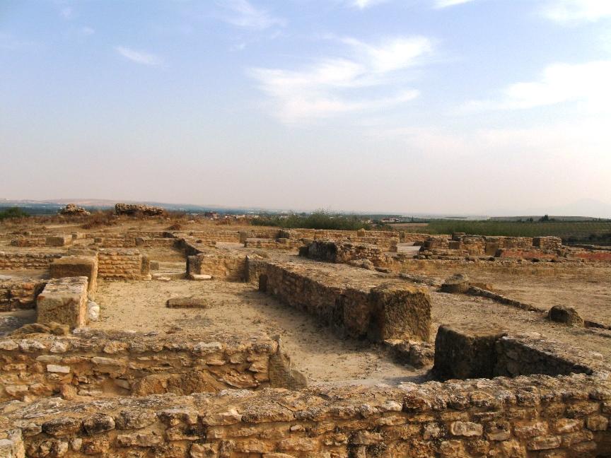 На фото развалины Карфагена в Тунисе