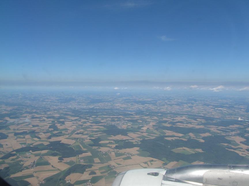 Баварские земли фото из самолёта