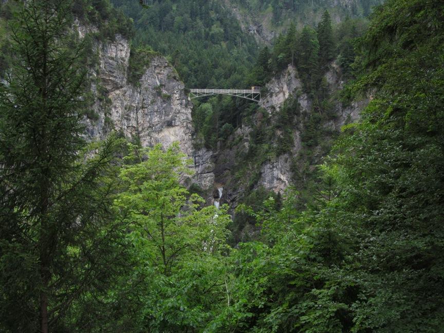 Вид на мост Мариенбрюк