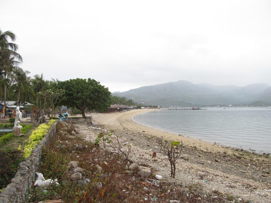 Фото пляжа острова обезьян