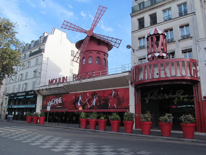 Мулин Руж в Париже