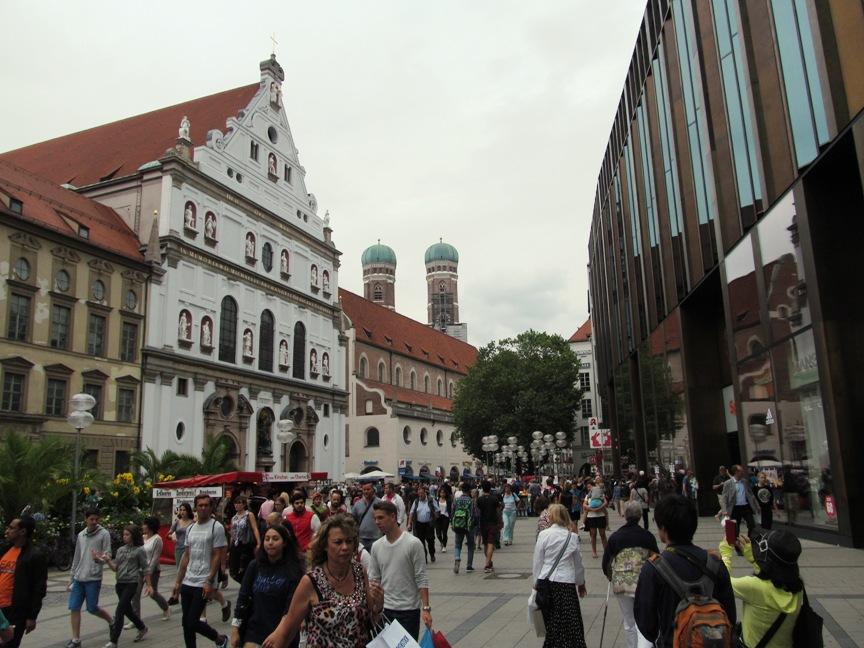 Старый город Мюнхена фото