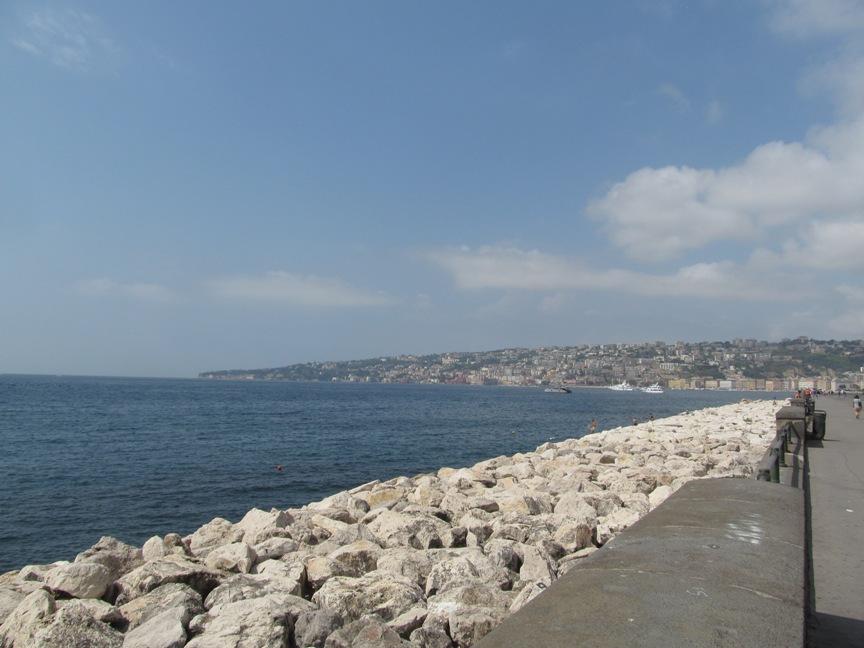 Набережная Неаполя фото