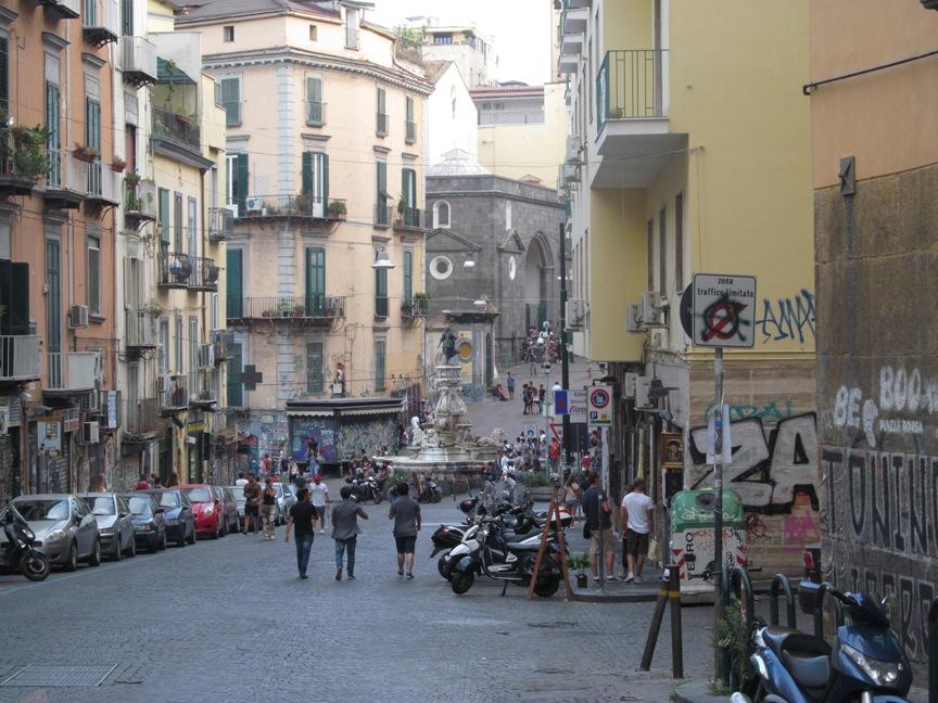 Графити в Неаполе