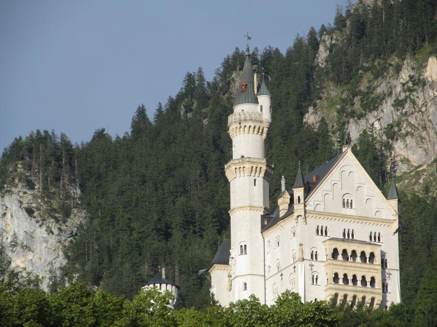Фото замка Нойванштайн в Германии