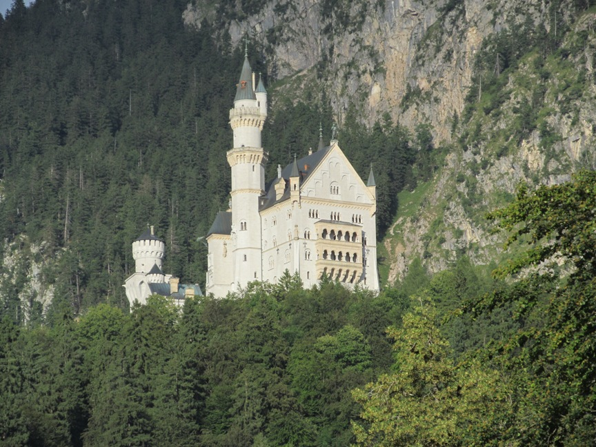 Замок Нойванштайн в Германии