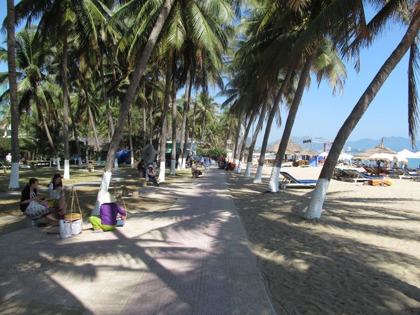 Пальмы, песок, море Нячанг на одном фото