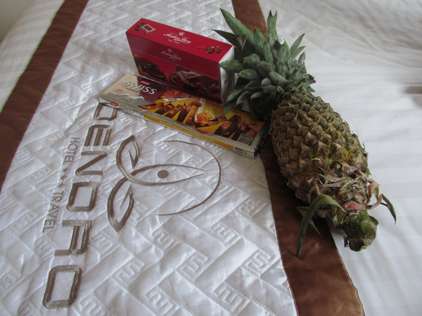 Фото ананаса из Нячанга