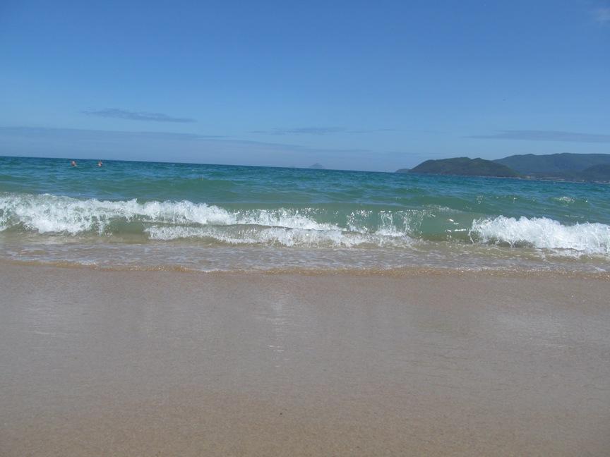 Море в Нячанге, цвет воды