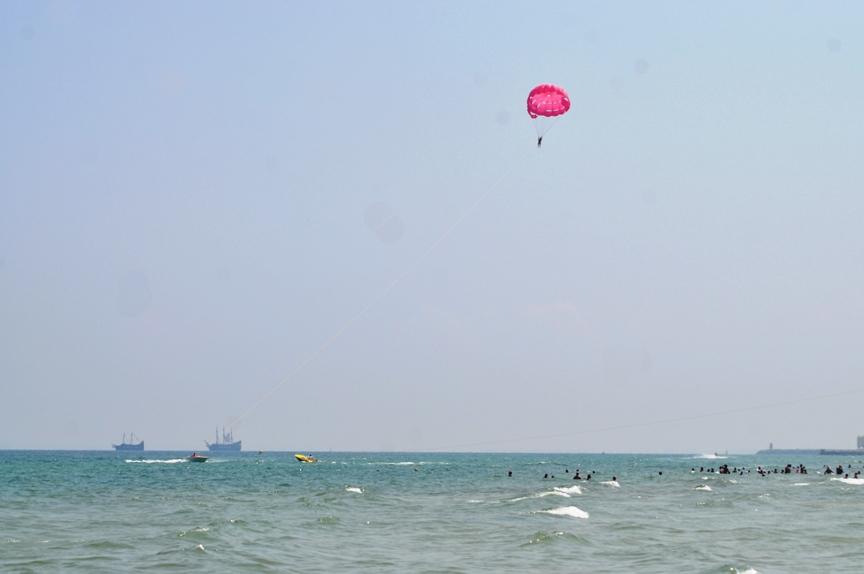 Наш полёт на парашюте в Суссе