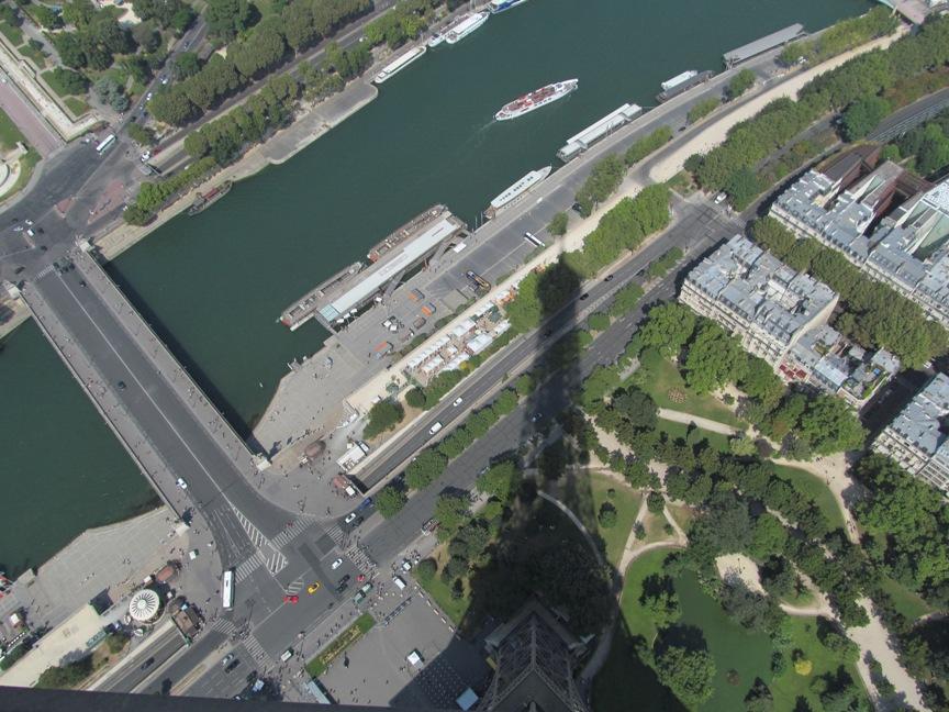 Фото с Эйфелевой башни