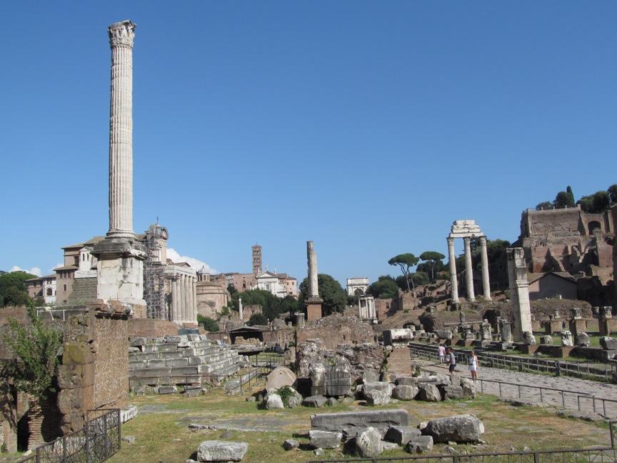 Археология Рима на Капитолийском холме