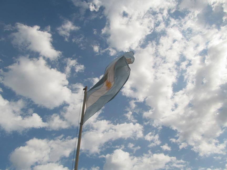 Аргентина флаг фото в Игуасу