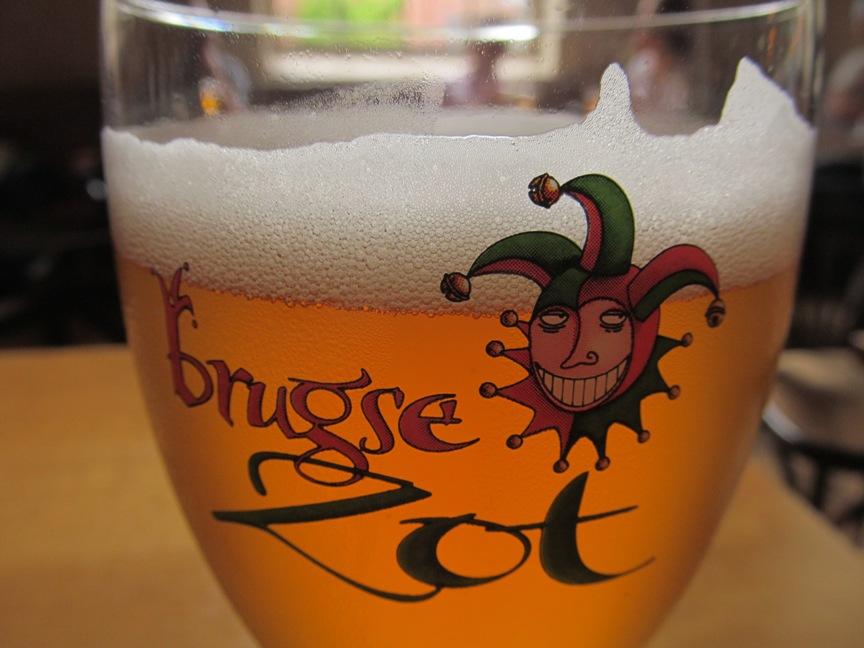 Бельгийское пиво в Брюгге