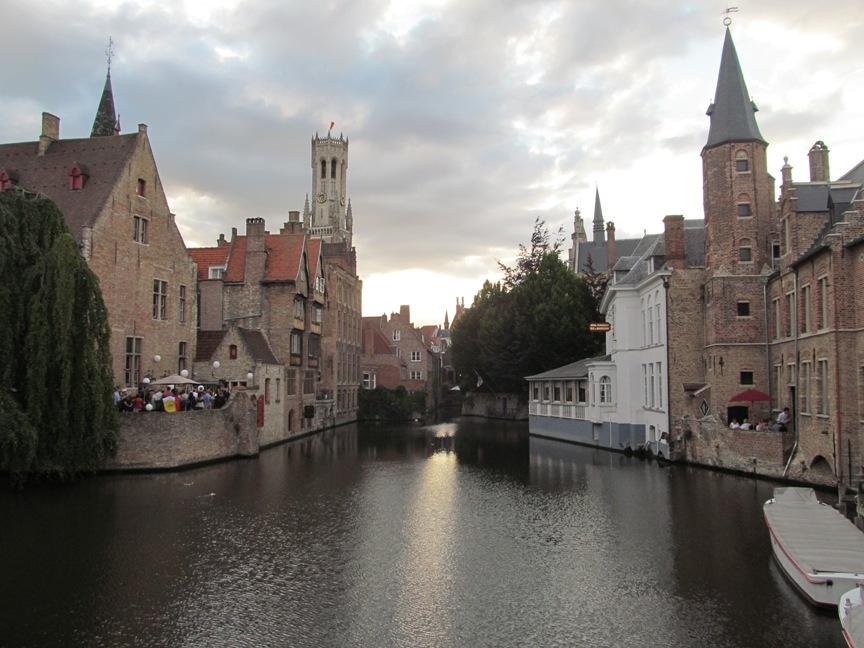 Каналы Брюгге фото