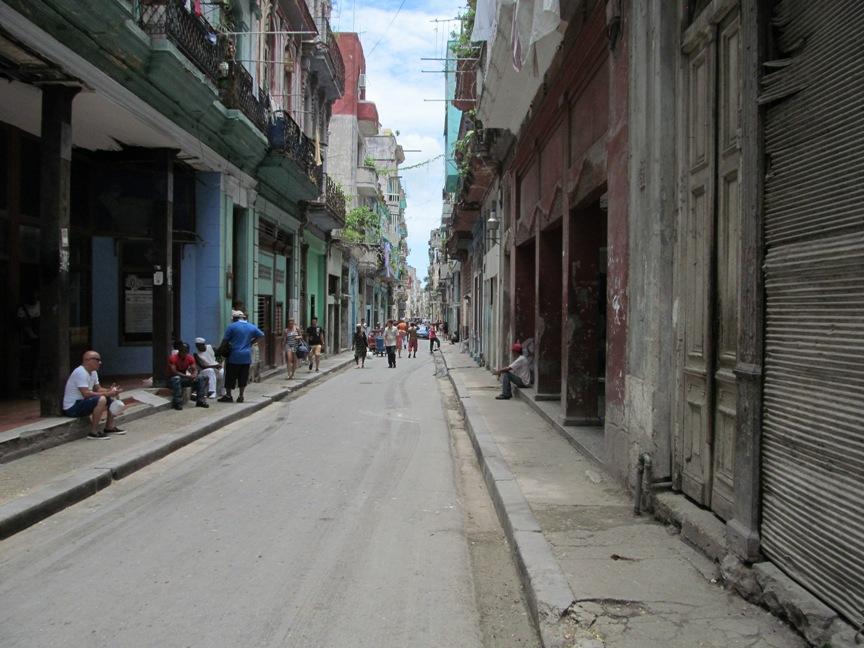 Центральная улица Гаваны