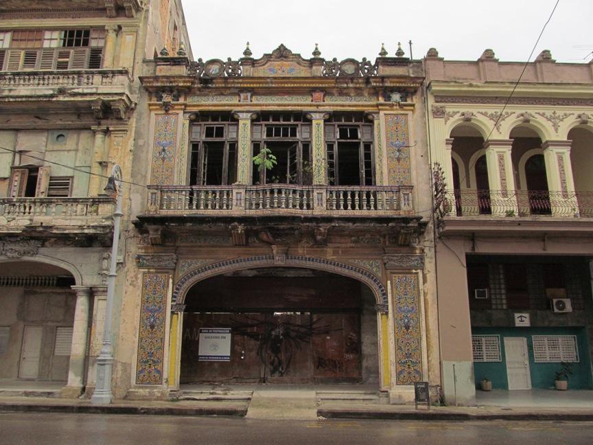Колониальные постройки в Гаване