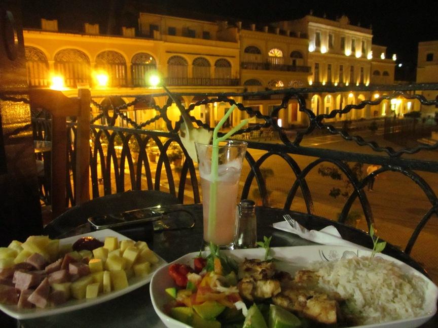 Ресторан на старой площади, Гавана
