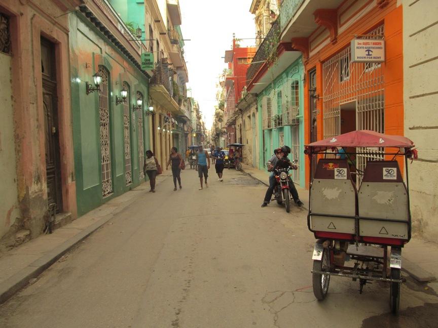 Велорикши в Гаване