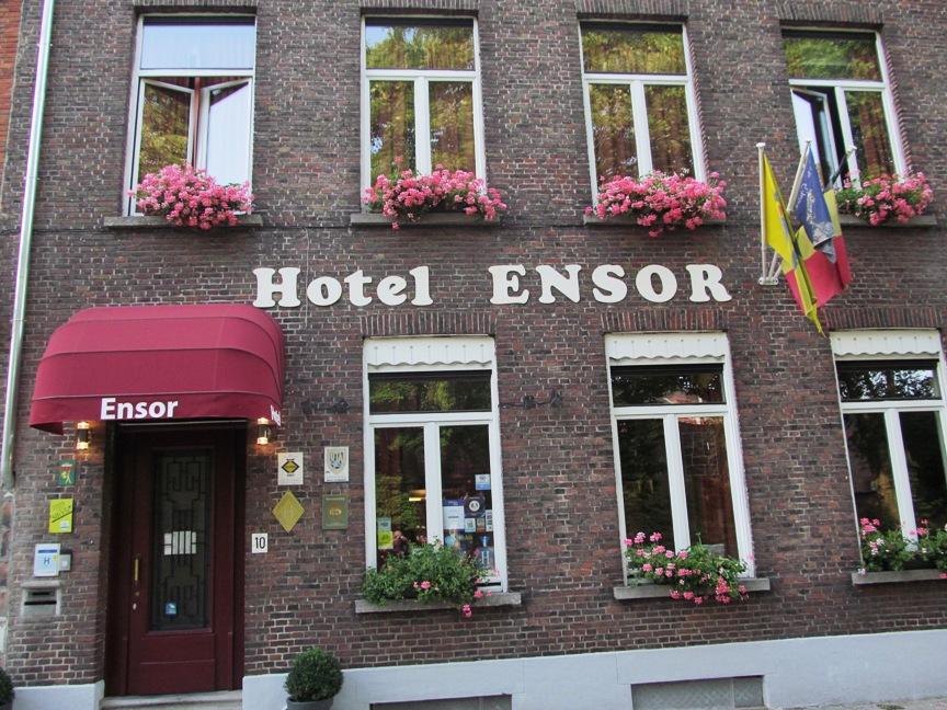 Отель в Брюгге Hotel Ensor