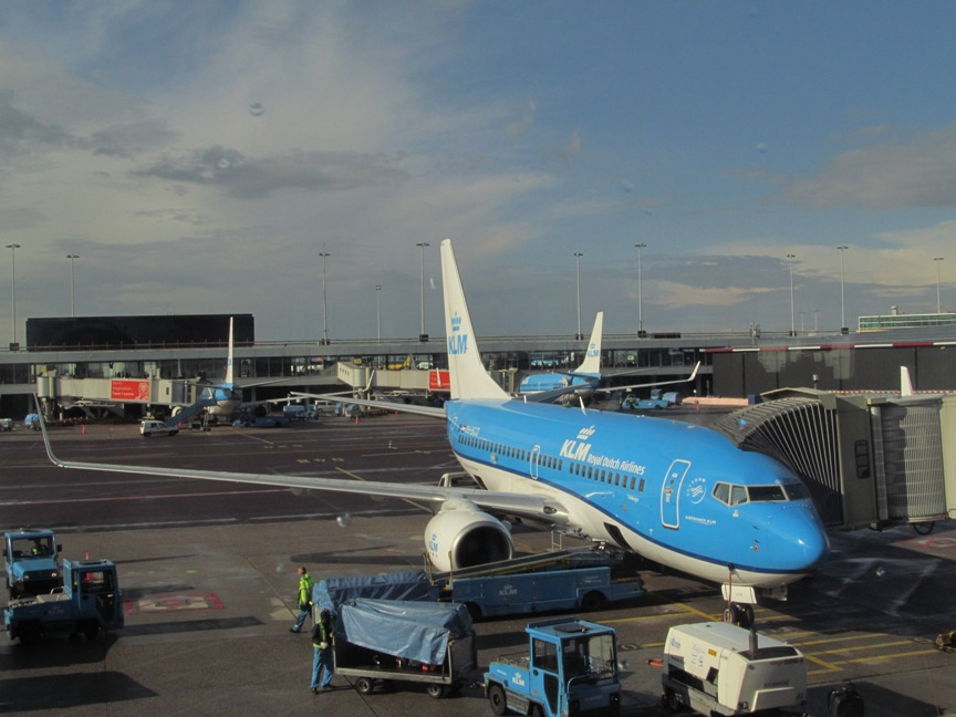 Амстердам - Санкт-Петербург KLM