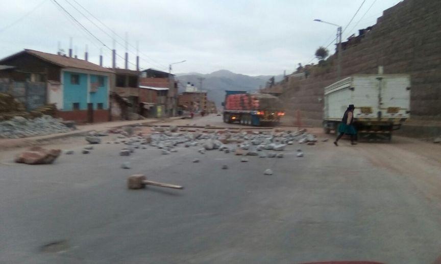 Протест в Куско июль 2017 фото