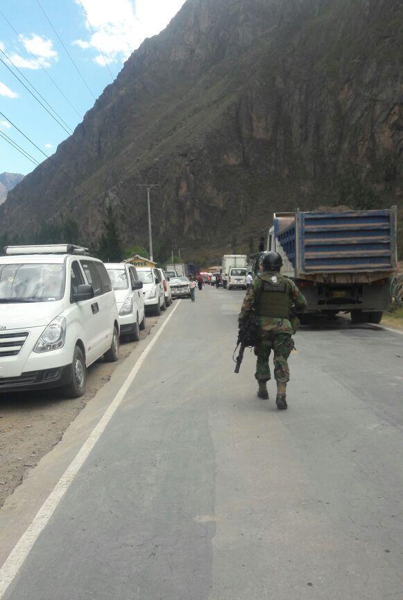 Войска в Куско июль 2017
