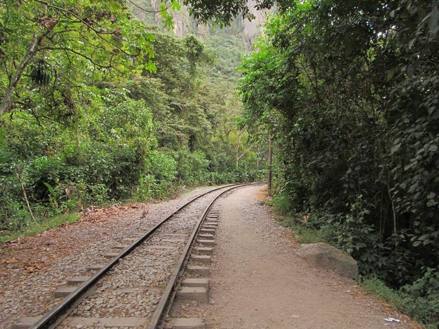 Железная дорога в Перу