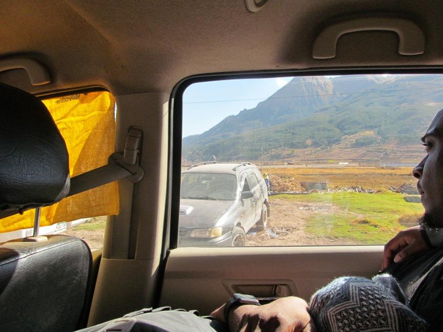Последние км по пути в Куско фото
