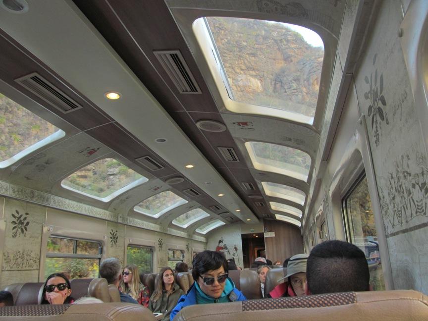 Поезд Expedition в МачуПикчу