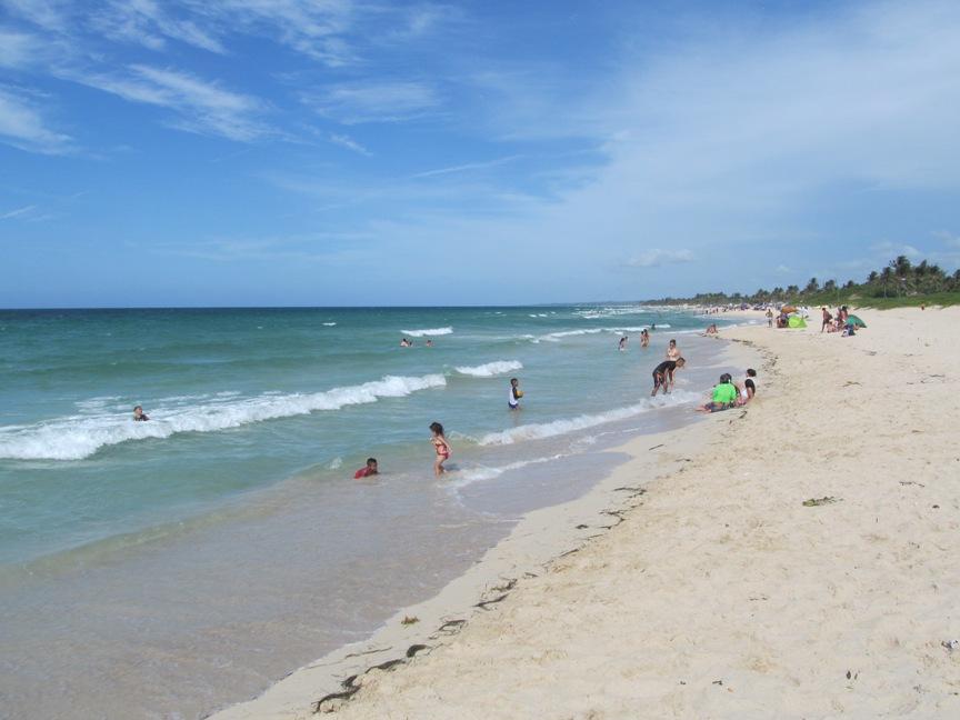 Фото пляжа Санта-Мария на Кубе
