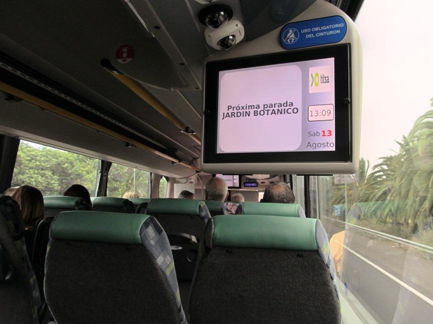 Автобус Коста-Адехе - Пуэрто-де-ла-Крус на Тенерифе