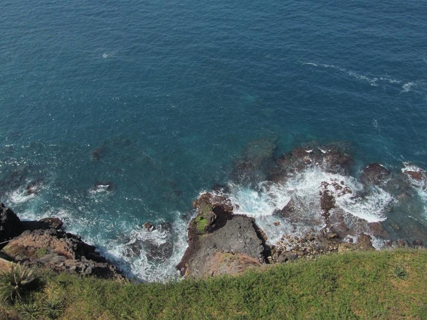 Вид на Атлантический океан в Пуэрто-де-ла-Крусе